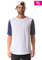 COLOUR WEAR Grand Base S/S T-Shirt navy stripe