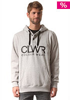 COLOUR WEAR Hooded Sweat grey melange