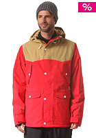 COLOUR WEAR Hunter Snow Jacket red