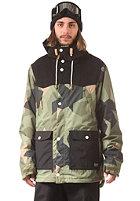 COLOUR WEAR K�ppeli Snow Jacket asymmetric oliv