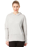 COLOUR WEAR Loose Hooded Sweat grey melange