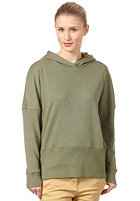 COLOUR WEAR Loose Hooded Sweat olive melange