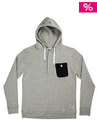 COLOUR WEAR Pocket Hooded Sweat grey melange
