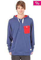 COLOUR WEAR Pocket Hooded Sweat navy