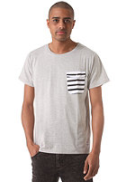 COLOUR WEAR Pocket S/S T-Shirt grey melange