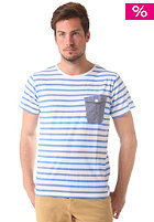 COLOUR WEAR Pocket S/S T-Shirt marina stripe