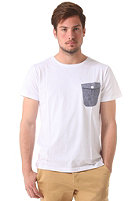 COLOUR WEAR Pocket S/S T-Shirt white