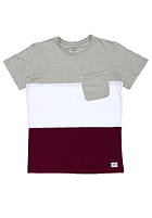 COLOUR WEAR Pouch S/S T-Shirt grey melange