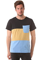 COLOUR WEAR Pouch S/S T-Shirt marina melange