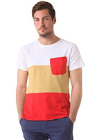 COLOUR WEAR Pouch S/S T-Shirt red