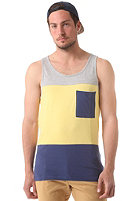 COLOUR WEAR Pouch Tank Top lemon melange