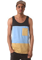 COLOUR WEAR Pouch Tank Top marina melange