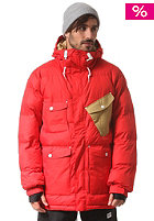 COLOUR WEAR Puff Snow Jacket red