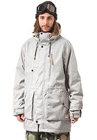 COLOUR WEAR Punisher Snow Parka Jacket grey melange