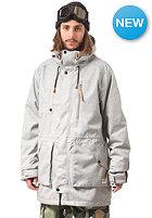 COLOUR WEAR Punisher Snow Parka Jacket grey melange