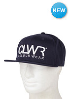 COLOUR WEAR Snapback Cap navy
