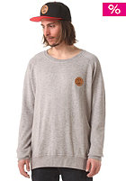 COLOUR WEAR Solid Crew Sweatshirt grey melange