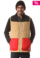 COLOUR WEAR TTR Vest camel