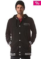 COLOUR WEAR Varsity Hooded Jacket black