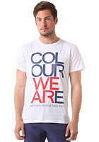 COLOUR WEAR We Are S/S T-Shirt white