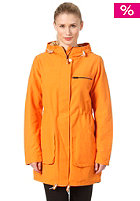 COLOUR WEAR Womens Bliss Parka rusty orange