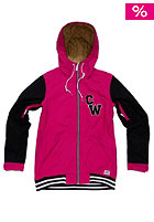 COLOUR WEAR Womens First Base Jacket fuchia