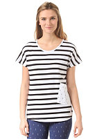 COLOUR WEAR Womens Holk black stripe