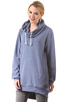 COLOUR WEAR Womens Knight Hooded Sweat navy melange