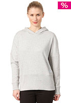 COLOUR WEAR Womens Loose Hooded Sweat grey melange