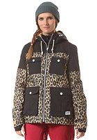COLOUR WEAR Womens Mellon Jacket camel leo
