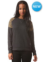 COLOUR WEAR Womens Shade Crew Sweat black melange