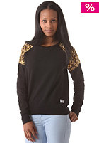 COLOUR WEAR Womens Shade Crew Sweatshirt black