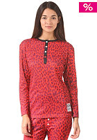 COLOUR WEAR Womens Shelter red leo