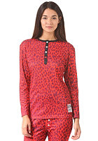 COLOUR WEAR Womens Shelter Top red leo