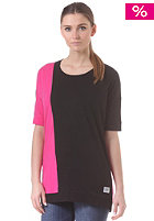 COLOUR WEAR Womens Slant S/S T-Shirt black