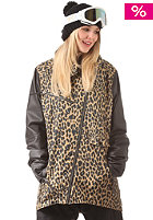 COLOUR WEAR Womens Slash camel leo