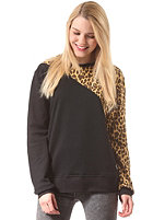 COLOUR WEAR Womens Slice Crew Sweat black