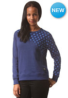 COLOUR WEAR Womens Slice Crew Sweat navy