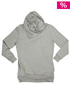 COLOUR WEAR Womens Tube Hooded Sweat grey melange