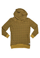 COLOUR WEAR Womens Tube Hooded Sweat leopard