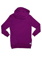 COLOUR WEAR Womens Tube Hooded Sweat lilac