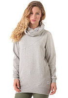 COLOUR WEAR Womens Tube Hooded Sweatshirt grey melange