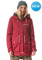 COLOUR WEAR Womens UP Parka burgundy
