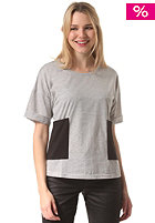 COLOUR WEAR Womens Wpock S/S T-Shirt grey melange