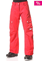COLOUR WEAR Womens WTTR Snow Pant red