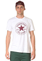 CONVERSE 1 Col Chuck Patch Crew S/S T-Shirt opt. White