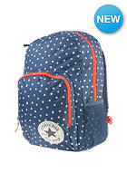 CONVERSE All In II Backpack sc blue micro star dot print