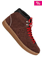 CONVERSE All Star Pro Leather Vac Mid Suede chocolate/black