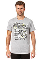 CONVERSE AMT Ransom Note Crew S/S T-Shirt vintage grey heather