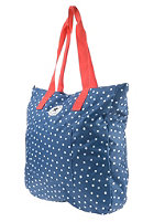 CONVERSE Beach Tote Shopper Bag sc blue micro star dot print